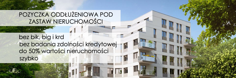 Kredyty pod zastaw Najszybciej w Olsztynie